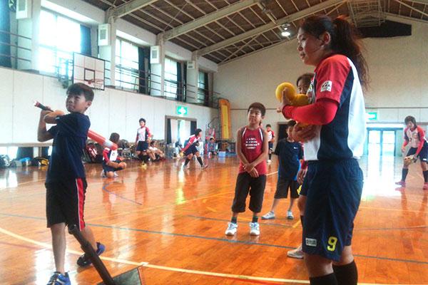 Jrスポーツ体験教室(ソフトボール1)