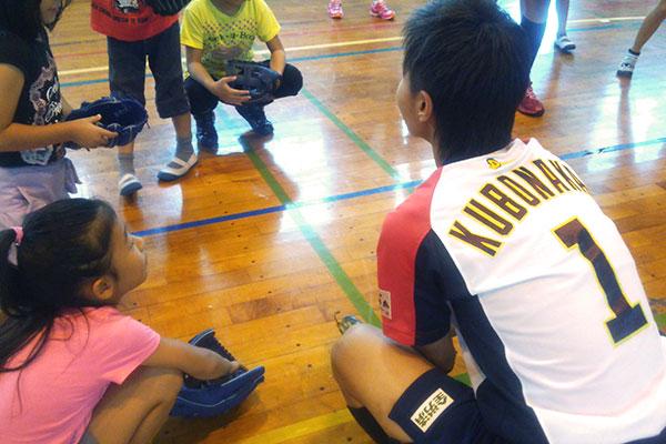 Jrスポーツ体験教室(ソフトボール2)