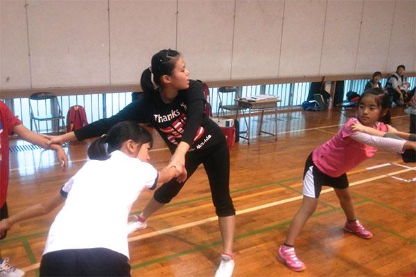 Jrスポーツ体験教室(エアロビ)