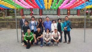 韓国バドミントン交流の旅